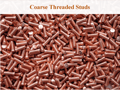 Coarse Threaded Studs